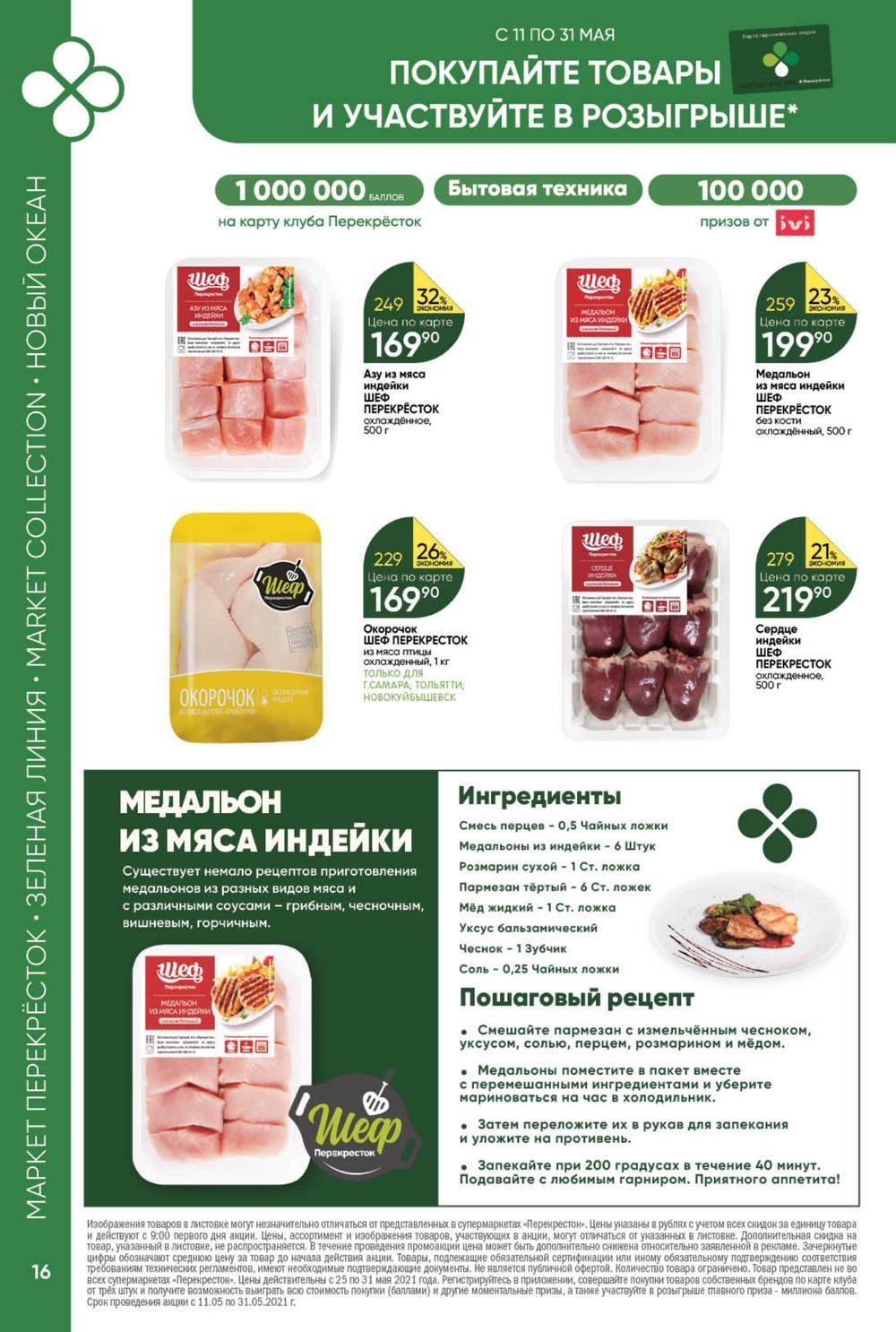 Новый каталог акций в Перекрестке г. Магнитогорск